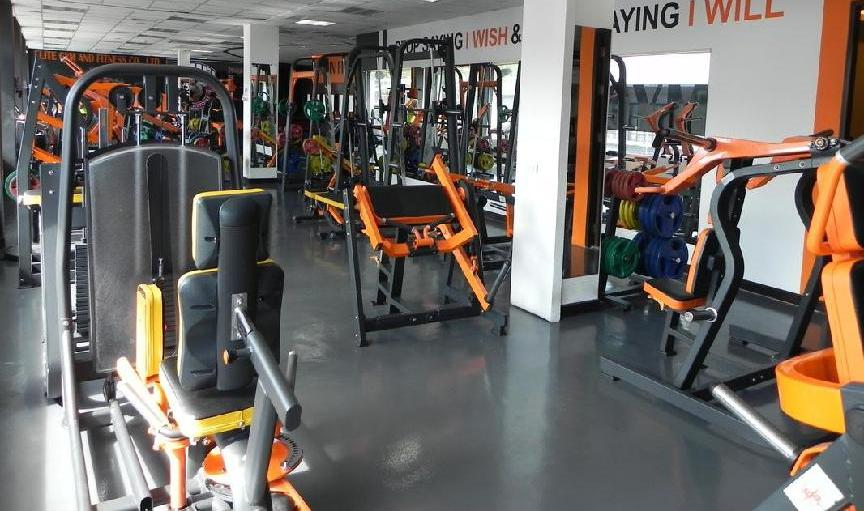 Fitness center picture