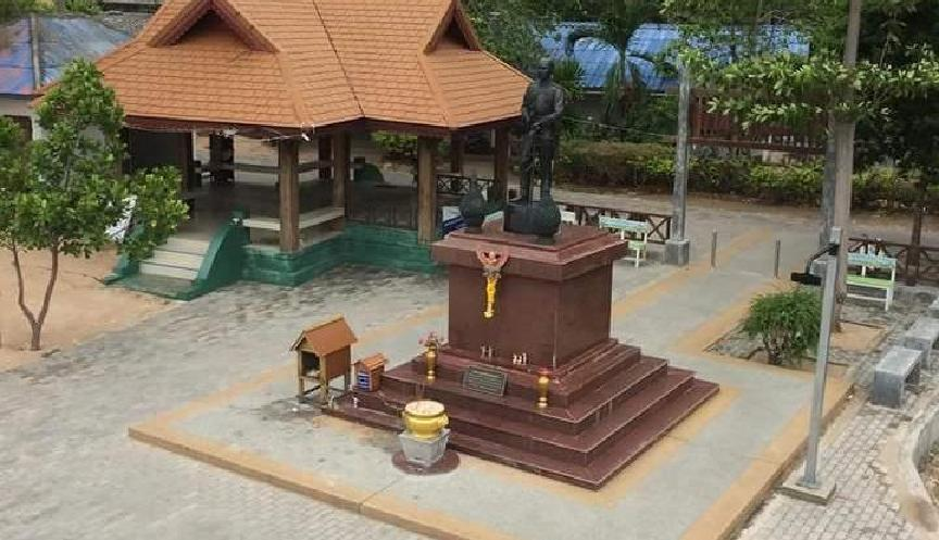 King Rama V Rock and Statue picture