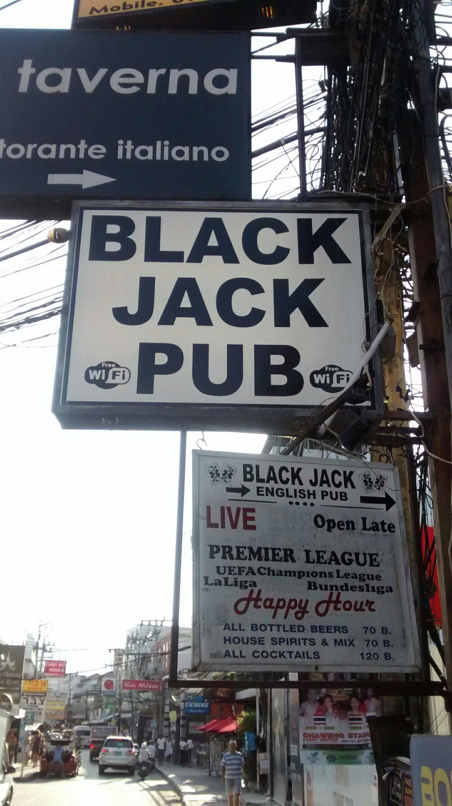 Black Jack pub picture