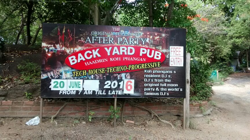 Backyard after party pub picture
