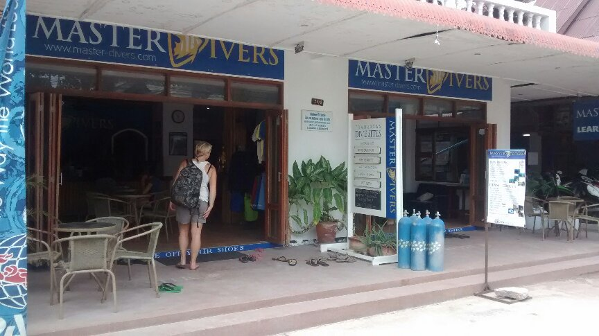 Master divers picture