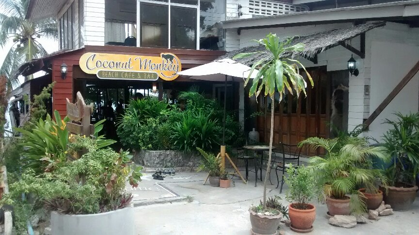 Coconut monkey beach cafe and bar picture
